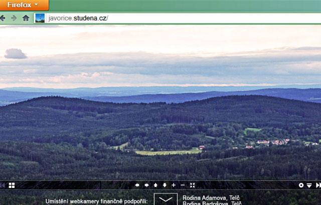 Webkamera Javořice